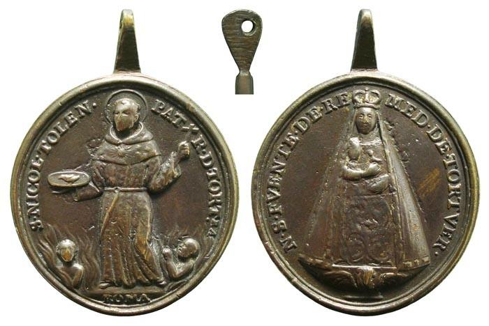 San Nicolás de Tolentino / Virgen de los Remedios de Tortuera - MR498 (R.M. SXVIII-O307) SLrmsT