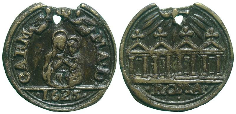 Jubileo de 1625 - Virgen del Carmen / Cuatro Basílicas de Roma - MR845 T9GS7F