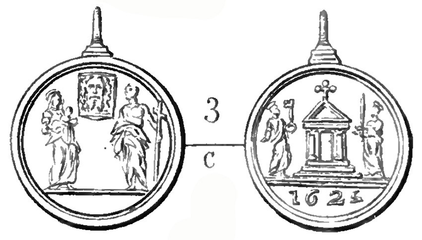 Jubileo de 1625 - Santa Faz de Jesús / Puerta Santa - MR725 (R.M. SXVII-C102) TkxxTY