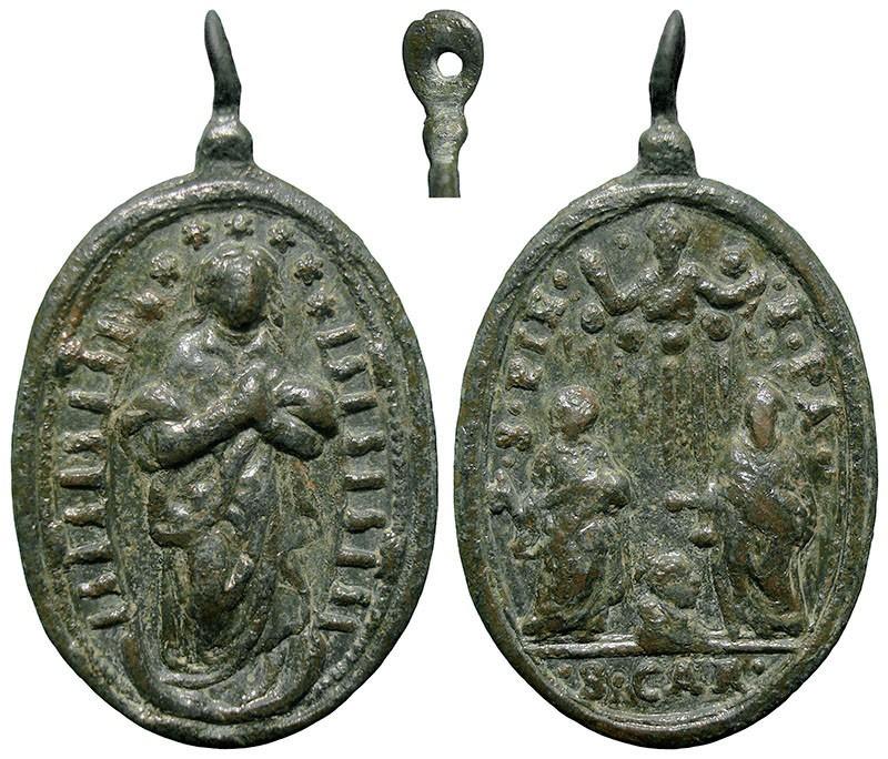 Inmaculada Concepción / San Carlos Borromeo y los apóstoles Pedro y Pablo - MR844 W6idHQ