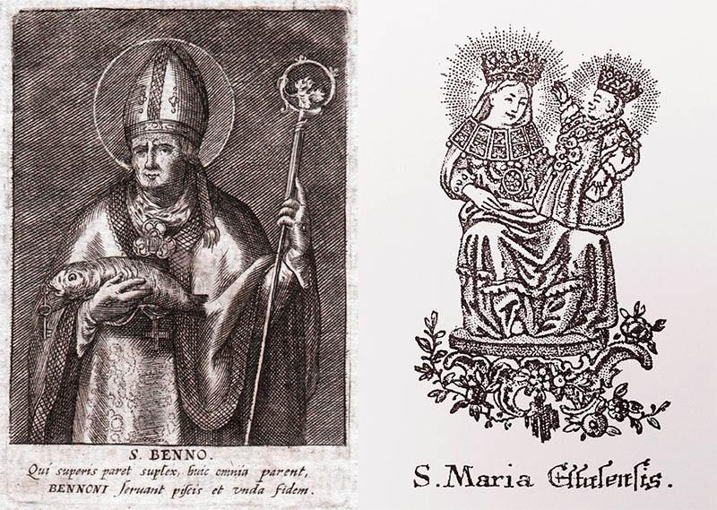 San Benno de Meissen / Santa Maria de Ettal - MR817 ADtdOv