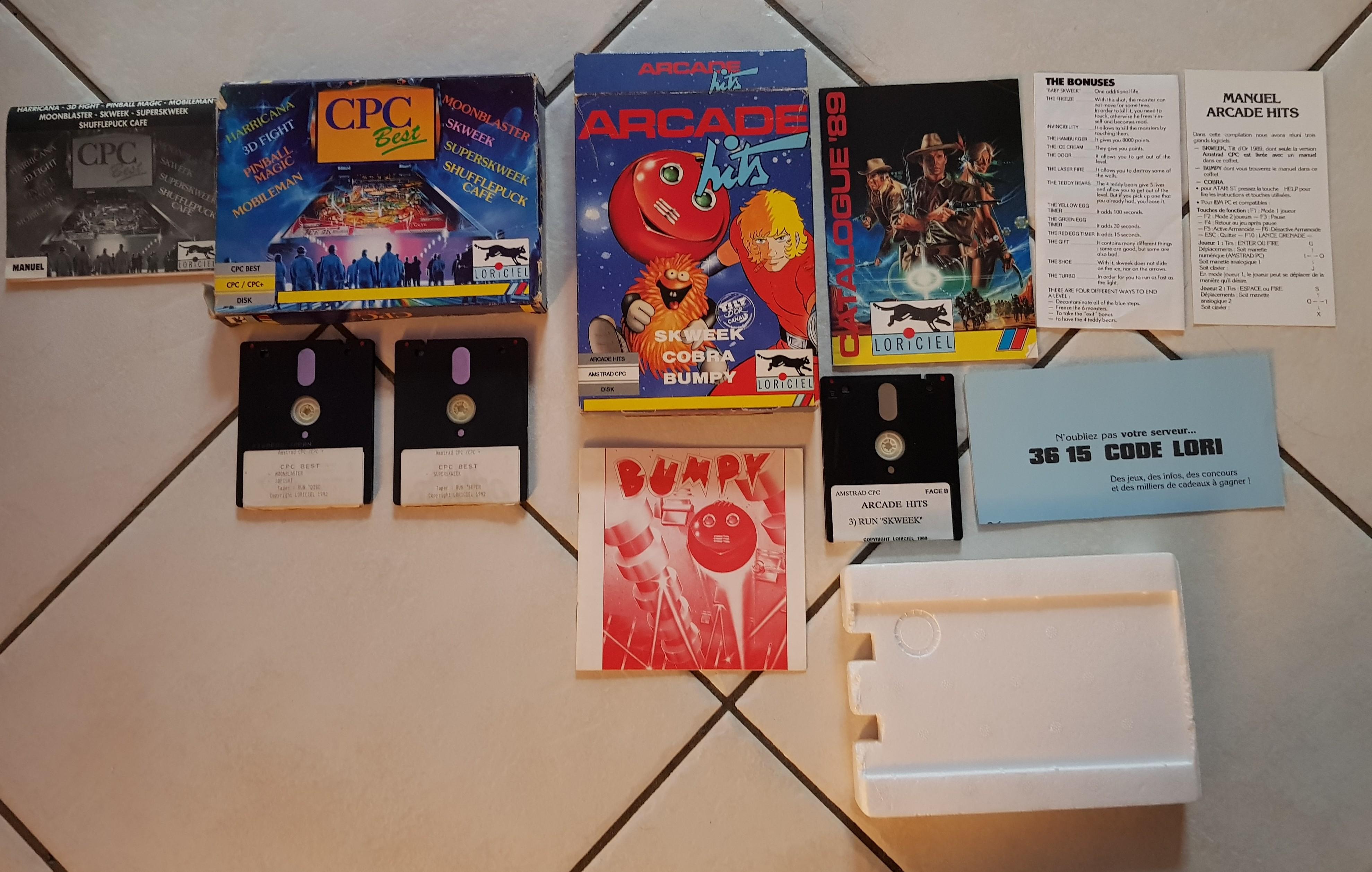 Jeux Amstrad CPC au format D7 G4QTFi