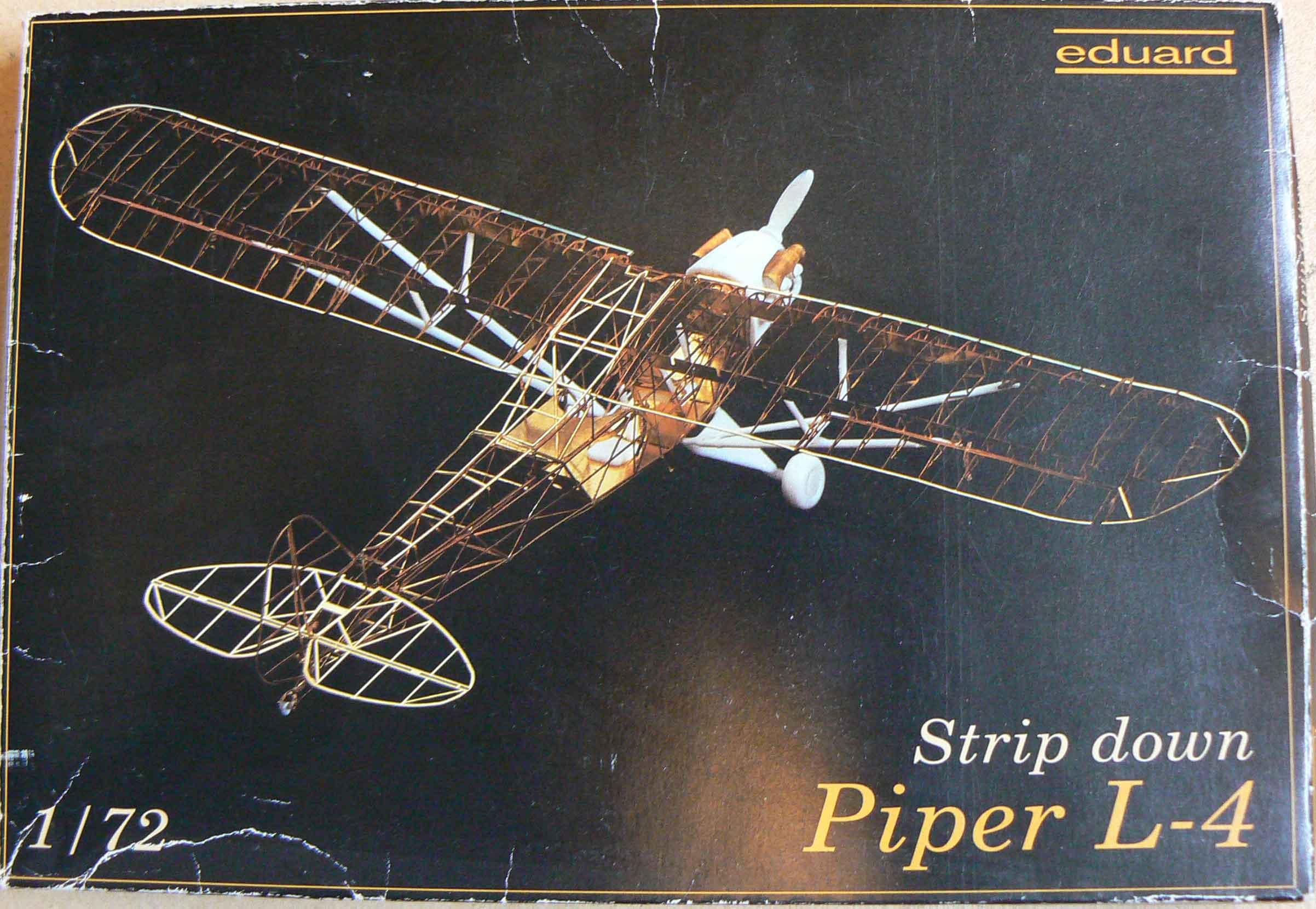 L4 Piper Eduard 1/72 HBklPk