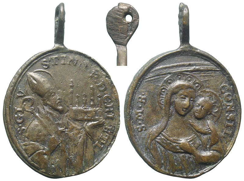 San Justino de Chieti / Nuestra Señora del Buen Consejo - MR762 (R.M. SXVIII-O471) NM34ra