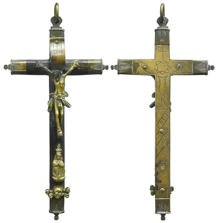 Crucifijo pectoral - CC115 OkPUCG