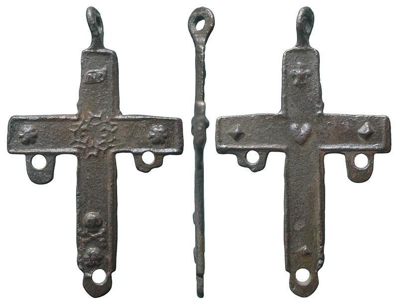 Cruz pequeña con dos asas - CC120 T0ET0i