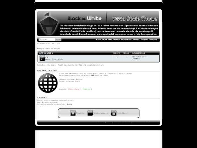 Black&white-vista in stil vista Preview