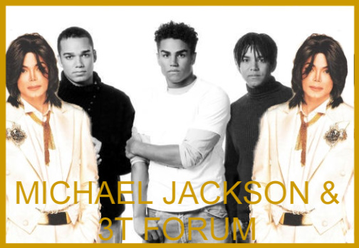 Michael Jackson & his nephews 3T