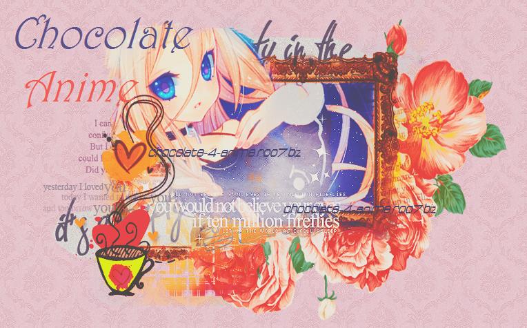 chocolate anime
