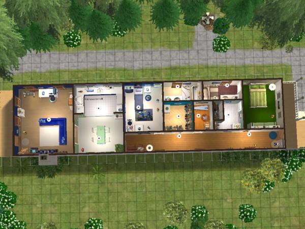 Stavba podle půdorysu Houseplan 005