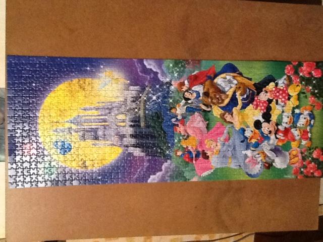 Le château de Disney