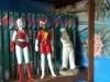 Collection animorphs ,avec bibelots et figurines de la série de goldorak Et de Laurel et Hardy