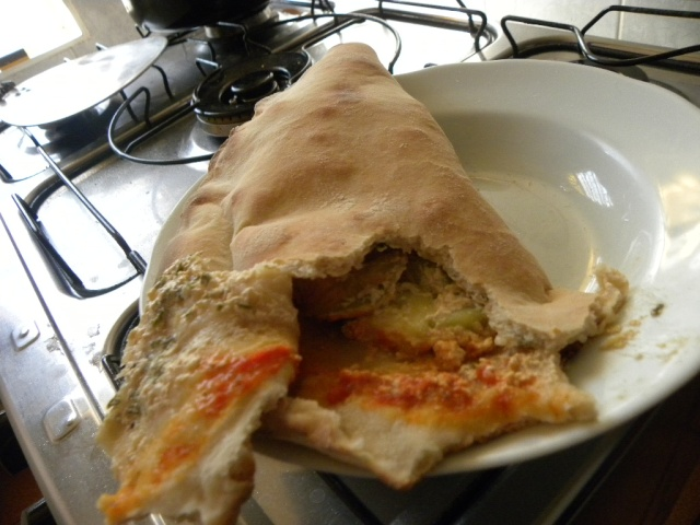 Problemas ao assar pizzas grandes no forno doméstico Rechei10