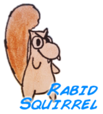 rabid squirrel