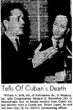 William Szili and Senator Richard Schweiker