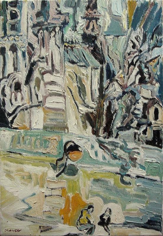 Couple sous Notre Dame de Dam : La toile du moment Couple10