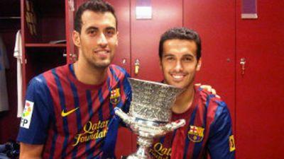 Pedro y Busquets