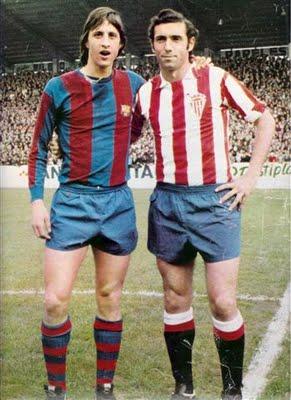 Cruyff y Quini