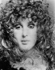 Patti in her 'feathery finery' appearing in a Fanny promo shot