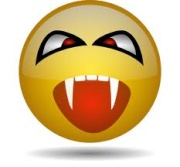 vampire face
