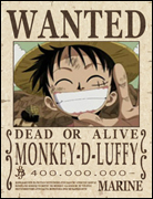 .Monkey D. Luffy.