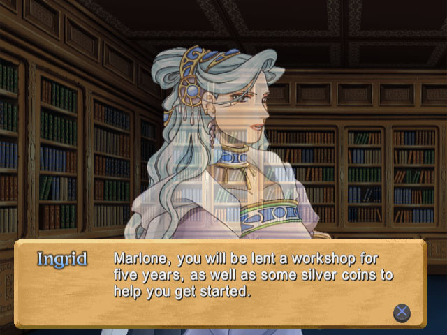 Atelier Marie - Dialogue with Ingrid