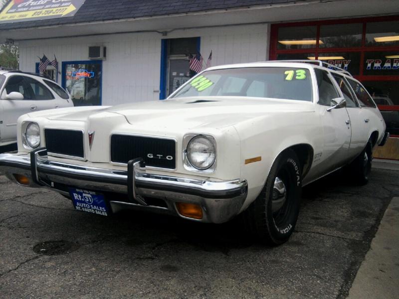 1973 Pontiac LeMans wagon GTO clone - 001