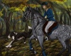 Pic for the HorseArt-rpg at DeviantART I like the result!  psst, the dog there is my dog in real life, Jake <3