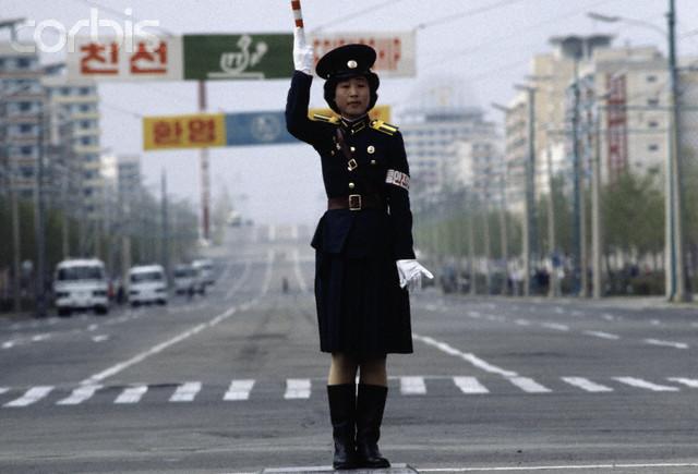 Pyongyang Traffic Controller circa 1979