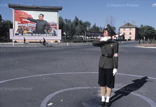 Pyongyang Traffic Policewoman  - circa 1981