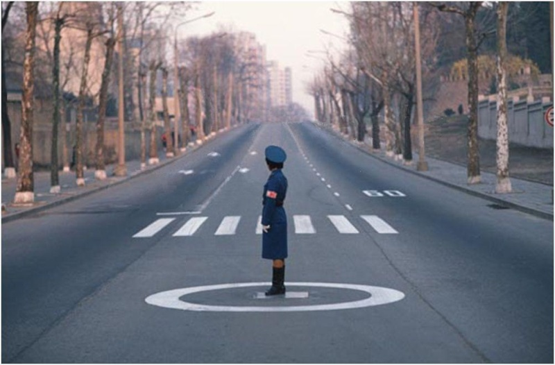 Lonely Is The Traffic Lady