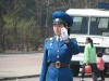 Traffic stands no chance against the commands of the Pyongyang Traffic Women