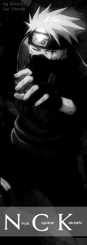 Ninja Copieur Kakashi