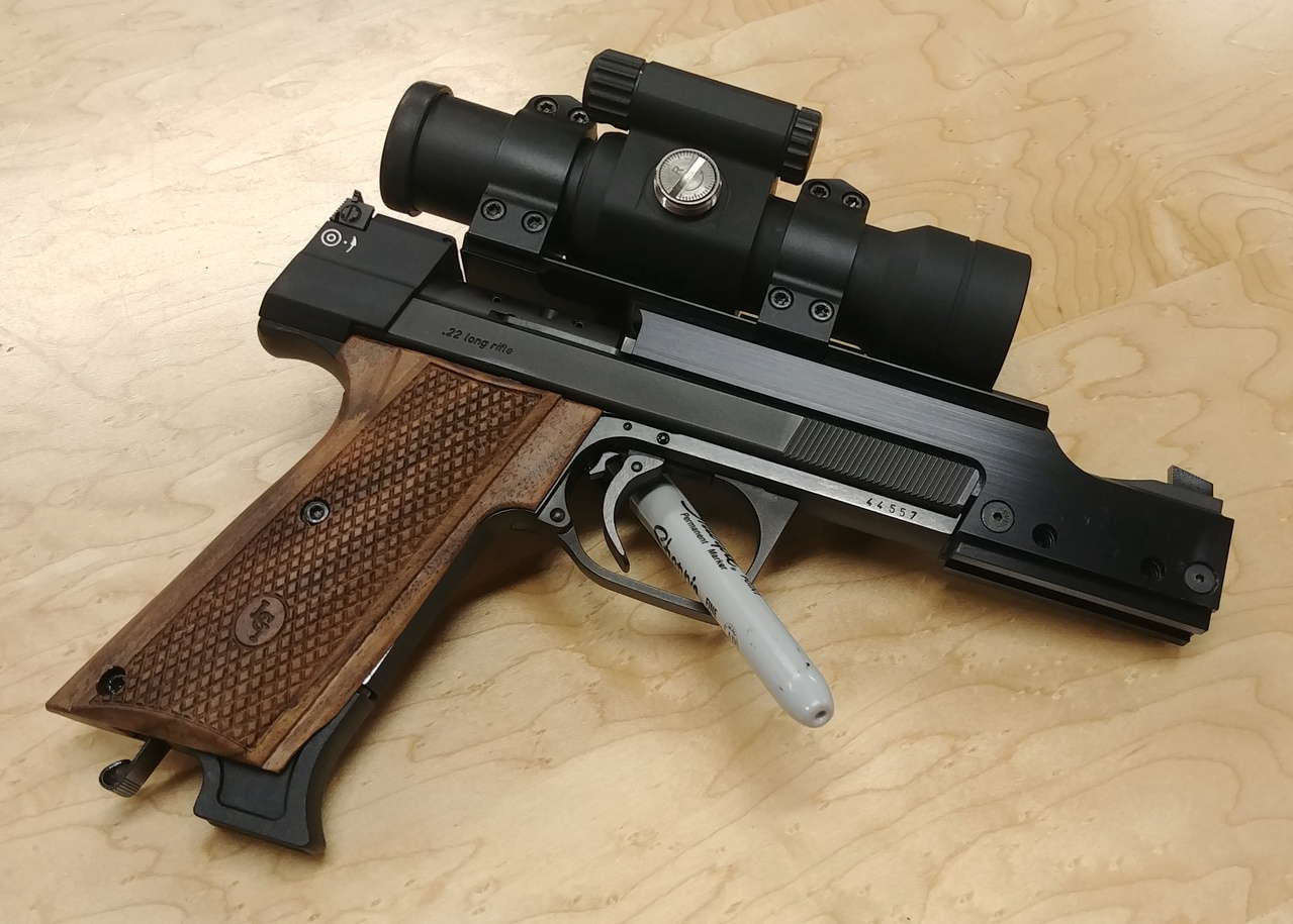 Think I might have a new favorite 22 pistol. 01212011