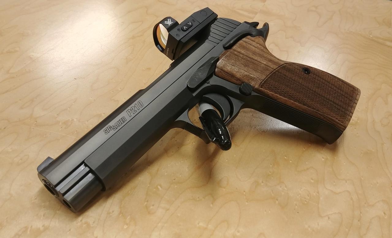 New Model Sig Sauer P210 Target ?  02182011