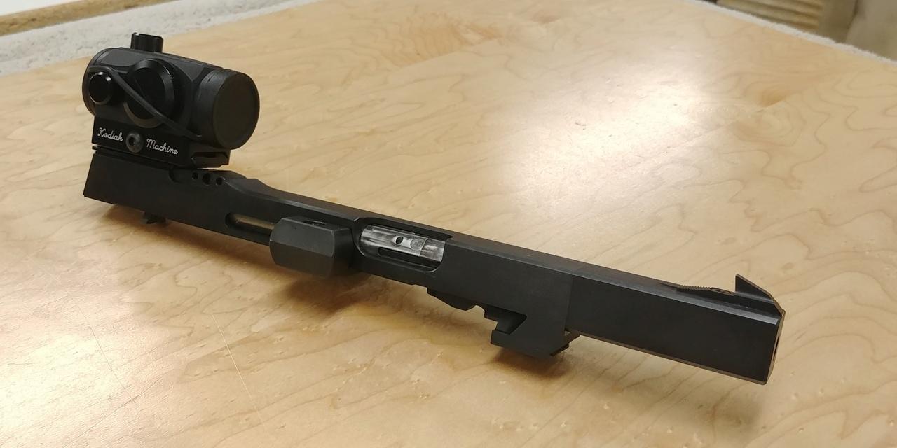 FS: Walther GSP 32 Upper, 2 mags, custom rail, Kodiak base W/Microdot 03232010