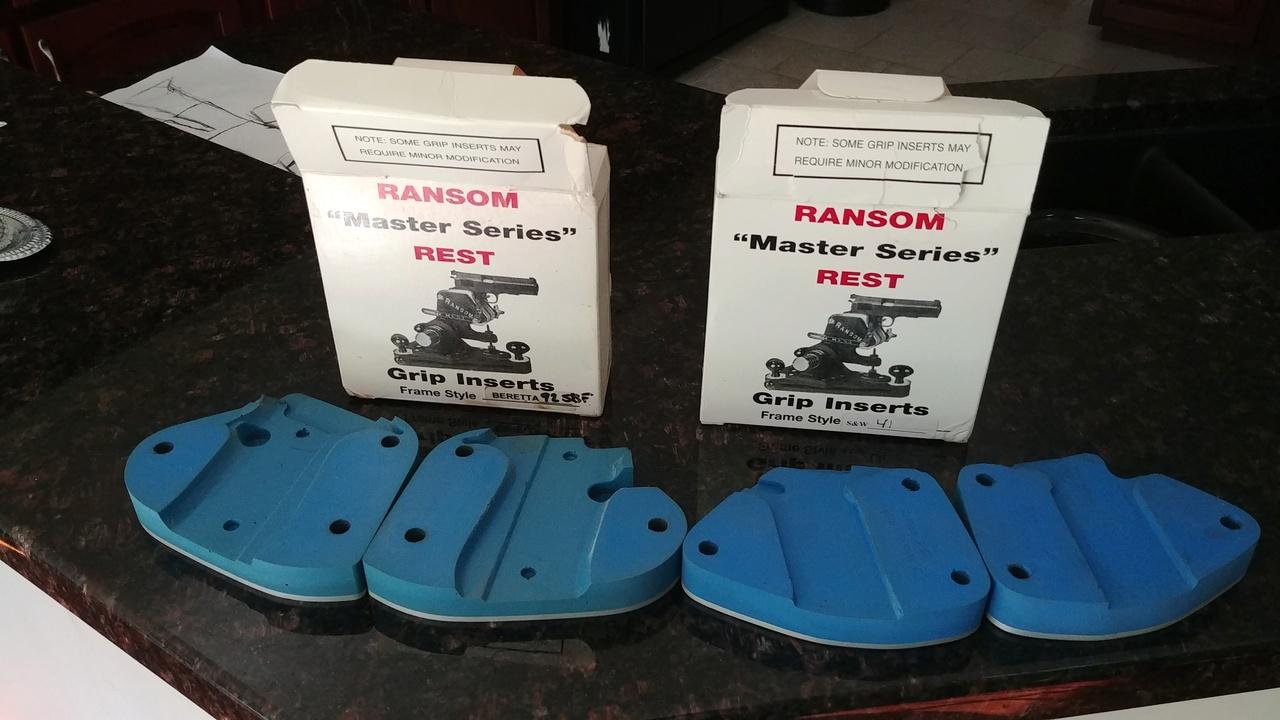 FS: Ransom rest inserts, S&W 41 & Berettta 92. 06291910