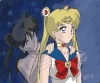 'To save the world you must kill me.' That's the frase Kurai says to Princess Serenity, her twin sister.