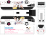 Here's the 3rd (and last; sorry) Sailor Moon Sacrifice official coach. The livery is the same; the bus design, a bit more detailed, as you have a fifth piece (the air conditioner) to assemble on. To have the A/C correctly installed, the air inlets (black traces) and fans (right behind the air inlets) must be turned forward, like the real thing! The rest, you may know how to assemble; otherwise, contack me for further informations, as well as for the other paperbuses with my signature!  Sayonara, and thank you for your support on this Board!