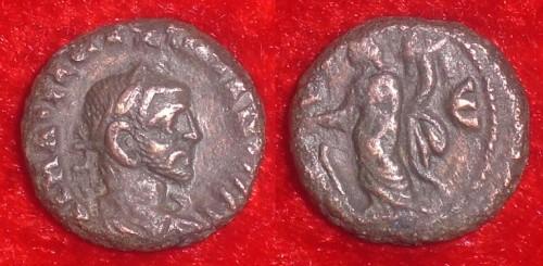 MAXIMIANUS - TETRADRACMA ALEXANDRIA - TYCHE