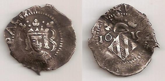 Dieciocheno (Divuitè) valenciano de Felipe III del 1619.
