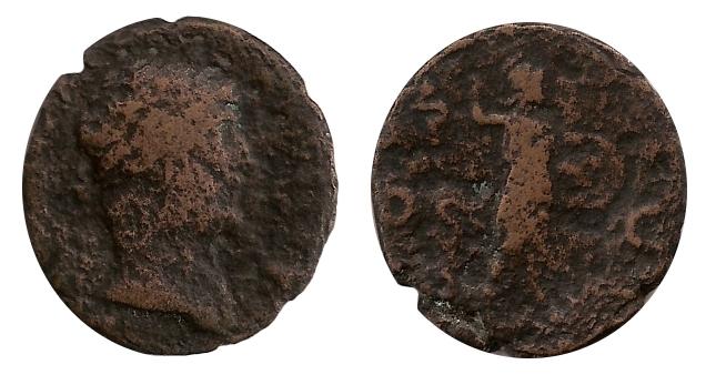 As de Adriano COS III - S C - Minerva.