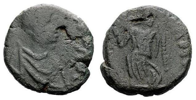 Nummus de Valentiniano III ¿? SECVRITAS REIPVBLICAE.