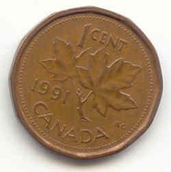 1 cent canada