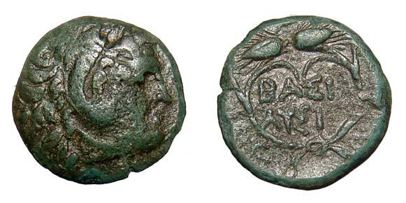 Lisímaco, Rey de Tracia 305 - 281 a.C.