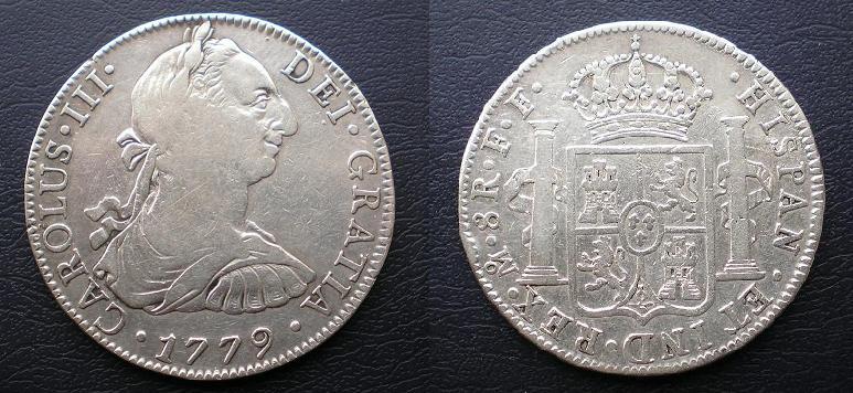 8 Reales Carlos III