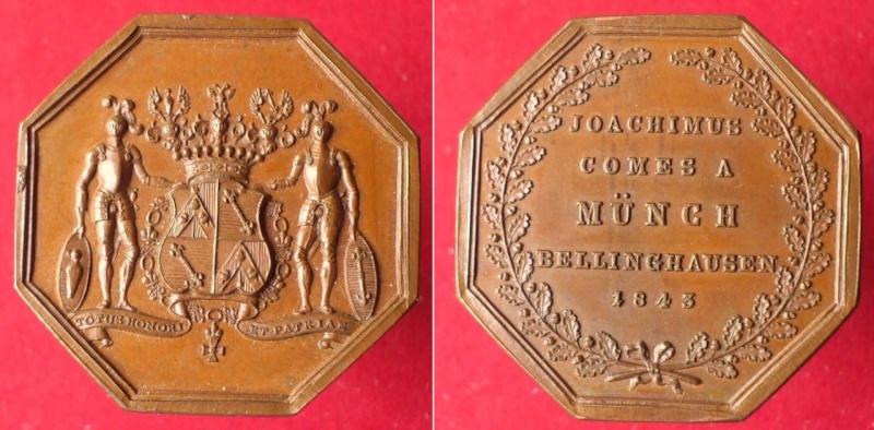 Austria - Medalla octogonal von Münch-Bellinghausen