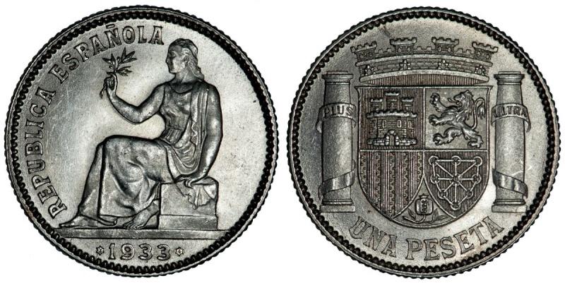1 PESETA 1934