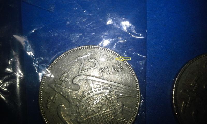 25 pesetas ano de 1957 Franco - 003