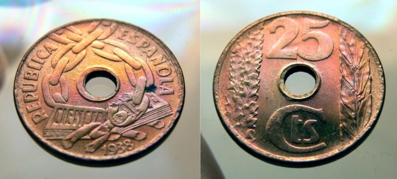 25 centimos 1938